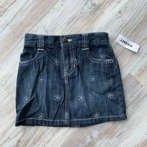 Old Navy NWT 4T Jean skirt